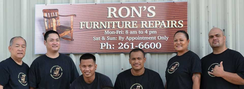 Ron's Furniture Repairs, Kaneohe, Hawaii
