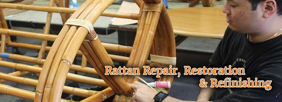 Rattan Repair, Restoration and Refinishing